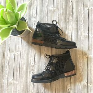 Sorel Major Lace Mesh Ankle Boots